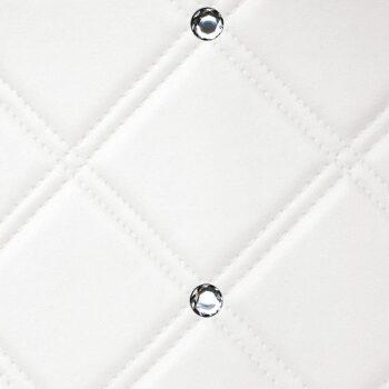 CR CRISTAL ROMBO 85 Bianco matt Silver_D Glam laminates