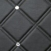 CR CRISTAL ROMBO 85 Nero matt Silver_D Glam Laminates