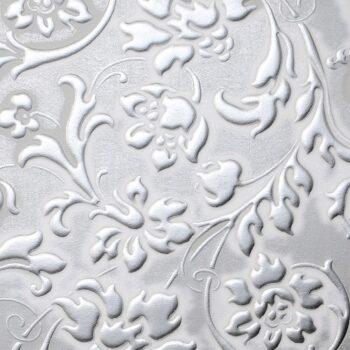 LL FLORAL White Silver matt_D Glam Laminates