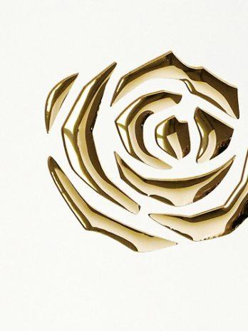 PL 3D ROSES Pearl White PF Gold_D Glam Laminates